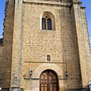 Church Of The Holy Spirit In Spain Art Print