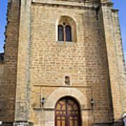 Church Of The Holy Spirit In Spain Art Print