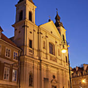 Church Of The Holy Spirit In Warsaw Art Print