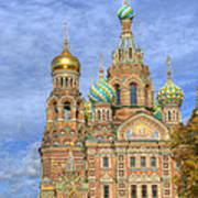 Church Of The Saviour On Spilled Blood. St. Petersburg. Russia Art Print