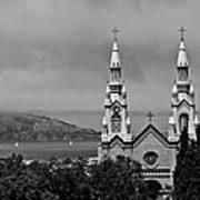 Church On The Bay Art Print