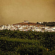 Church On The Hill - Andalusia Art Print