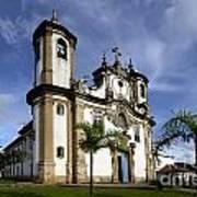 Church Ouro Preto Brazil 5 Art Print