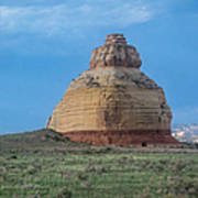 Church Rock On The Road To Moab Art Print