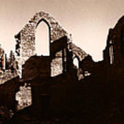 Church Ruins Art Print