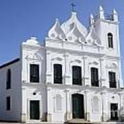 Church Sao Luis Brazil Art Print