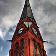 Church Spire Hdr Art Print
