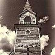 Church Steeple 2 Art Print