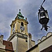 Church Steeple - Bratislava Slovakia Art Print