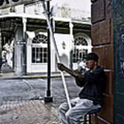 Cigar Shop On Bourbon Street New Orleans Art Print
