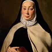 Cignani Carlo, Portrait Of A Nun, 17th Art Print
