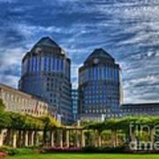 Cincinnati Landmarks 6 Art Print