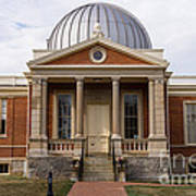 Cincinnati Observatory In Cincinnati Ohio Art Print by Paul Velgos