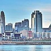 Cincinnati Panorama Art Print