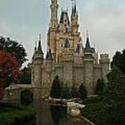 Cinderella's Castle Reflected Art Print