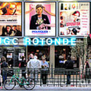 Cinema In Paris Art Print