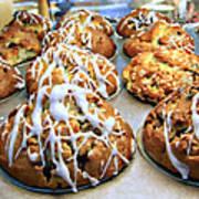 Cinnamon Muffins Art Print