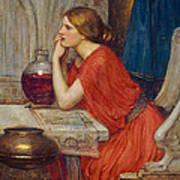 Circe Art Print by John William Waterhouse