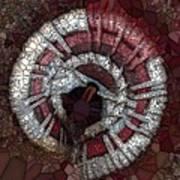Circle Basket Art Print