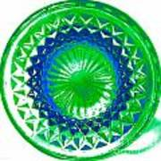 Circle Green Art Print