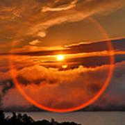 Circle Round The Sun Art Print by Steven Ainsworth