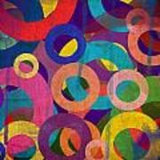 Circles Art Print by Aya Murrells
