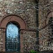 Circular Church Window Art Print
