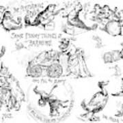 Circus Animals, 1888 Art Print