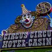 Circus Circus Art Print