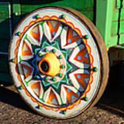 Circus Wagon Art Print