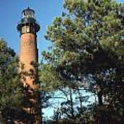 Cirrituck Beach Light Art Print