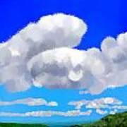 Cumulus Impressionism Art Print