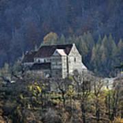 Cisnadioara Michelsberg Siebenbuerger medieval Castle Art Print