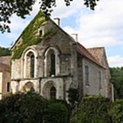 Cistercian Abbey Of Fontenay Art Print