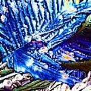Citric Acid Microcrystals Abstract Color Art Art Print