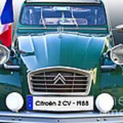 Citroen 2 Cv - France Art Print