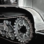 Citroen Half Track - Automobile  Art Print