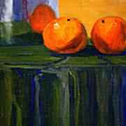 Citrus Chrome Art Print
