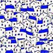 City 744 - Marucii Art Print