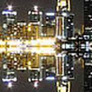 City Approach Panoramic Art Print