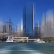 City-art Sydney Circular Quay Art Print