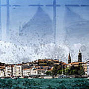 City-art Venice Panoramic Art Print