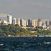 City At The Waterfront, Salvador Art Print
