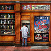 City - Baltimore Md - Explore The Land Of Beer  Art Print