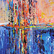 City By The Sea 2 Art Print