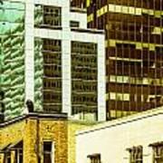 City Center-74 Art Print