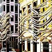 City Center-8 Art Print