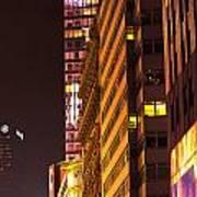 City Glow Art Print