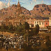 City Hall - Capetown 1917 Art Print