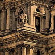 City Hall Closeup Art Print